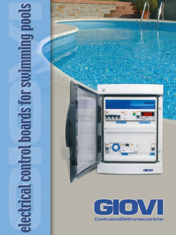 giovi.com - Control Board for Swimming pool Catalogs