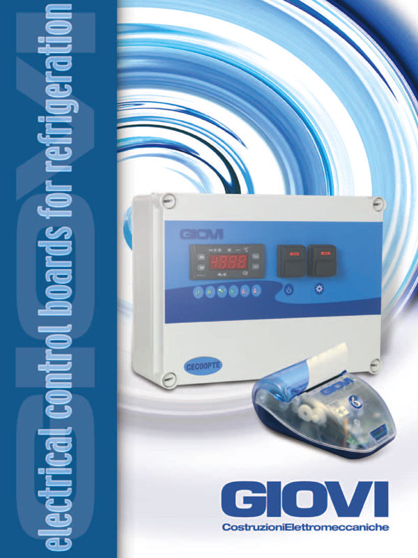 cataloghi giovi | Catalogo quadri elettrici per refrigerazione